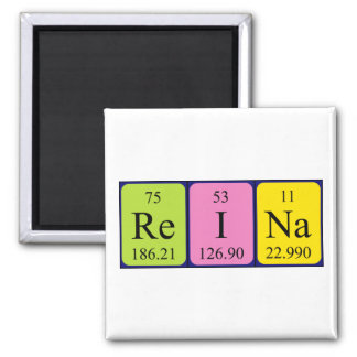 Reina periodic table name magnet