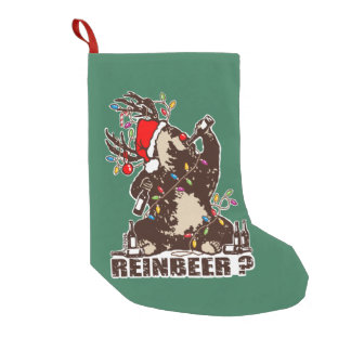 Reinbeer? Small Christmas Stocking