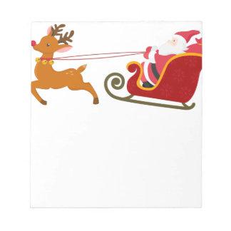 reindeer8 notepad
