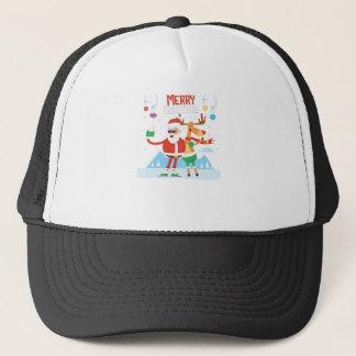 reindeer 11 trucker hat