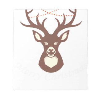 reindeer 13 notepad