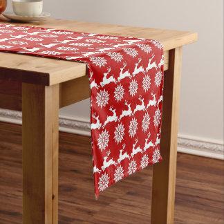 Reindeer and Snowflake Christmas Table Runner