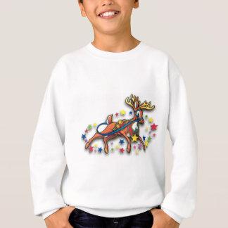 Reindeer and Stars Sweatshirt