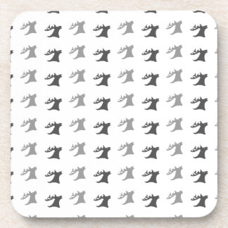 Reindeer Antler Pattern Coaster