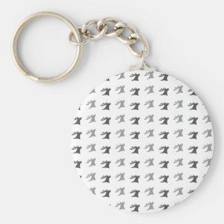 Reindeer Antler Pattern Keychain