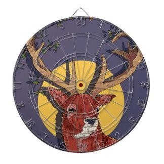 Reindeer Antlers Christmas Dartboard
