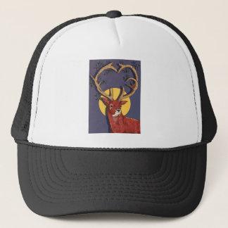 Reindeer Antlers Christmas Trucker Hat