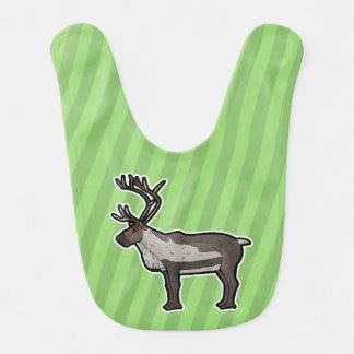 Reindeer Baby Bib