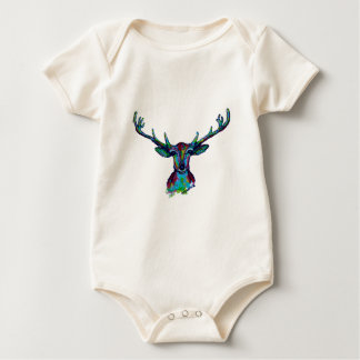 Reindeer Baby Bodysuit
