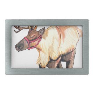 Reindeer Belt Buckles