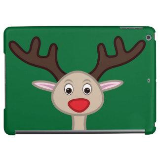 Reindeer cartoon character iPad air covers