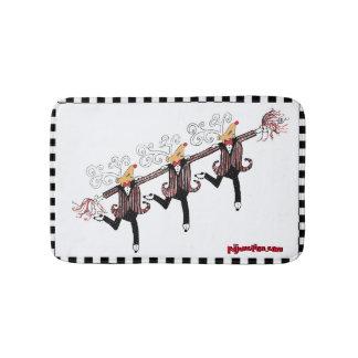 Reindeer Chorus Line Bath Mat