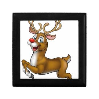 Reindeer Christmas Cartoon Character Gift Boxes