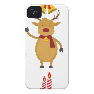 reindeer christmas Case-Mate iPhone 4 cases