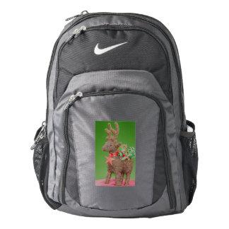Reindeer Christmas decoration Backpack
