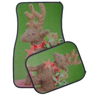 Reindeer Christmas decoration Car Mat