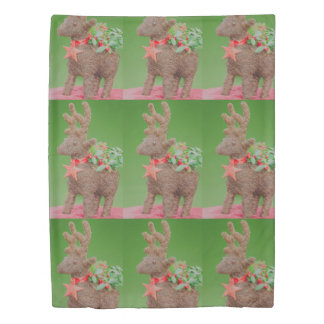 Reindeer Christmas decoration Duvet Cover