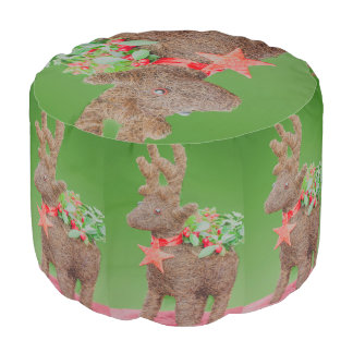 Reindeer Christmas decoration Pouf