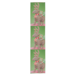 Reindeer Christmas decoration Short Table Runner