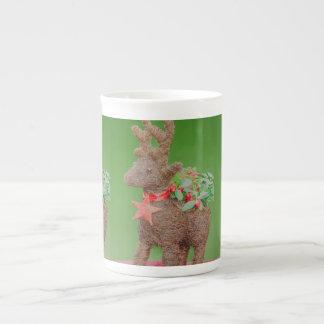 Reindeer Christmas decoration Tea Cup