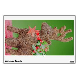 Reindeer Christmas decoration Wall Decal