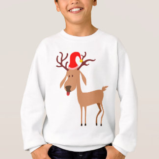 Reindeer Christmas Holidays Joy Sweatshirt