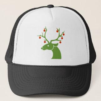 Reindeer Christmas Holidays Joy Trucker Hat