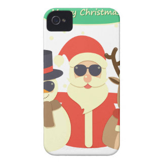 reindeer christmas iPhone 4 case