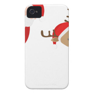 reindeer christmas iPhone 4 Case-Mate cases