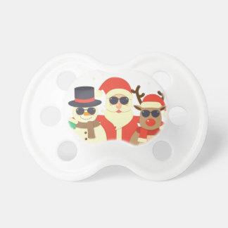reindeer christmas pacifier