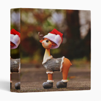 Reindeer decorations - christmas reindeer binder