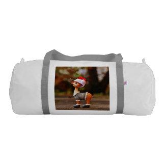 Reindeer decorations - christmas reindeer gym bag