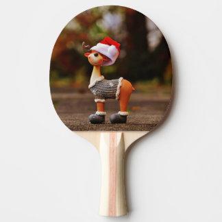 Reindeer decorations - christmas reindeer ping pong paddle