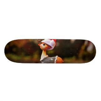 Reindeer decorations - christmas reindeer skate board deck