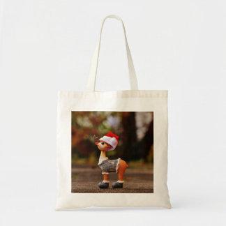 Reindeer decorations - christmas reindeer tote bag