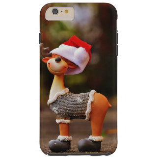 Reindeer decorations - christmas reindeer tough iPhone 6 plus case