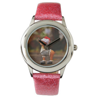 Reindeer decorations - christmas reindeer watch