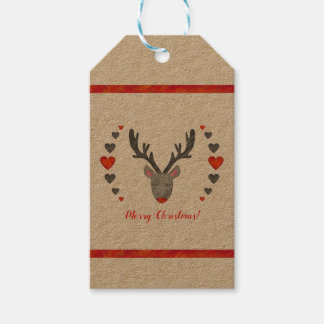 Reindeer! Gift Tags Pack Of Gift Tags