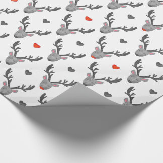 Reindeer! Glossy Wrapping Paper