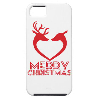 Reindeer Heart iPhone 5 Covers
