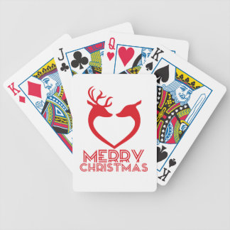 Reindeer Heart Poker Deck