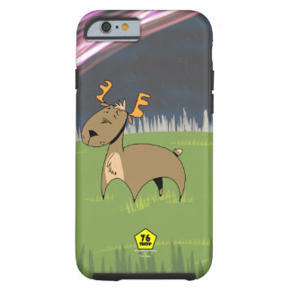 Reindeer in Tundra Tough iPhone 6 Case