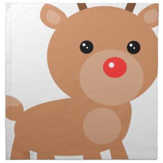 Reindeer Napkin