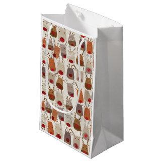 Reindeer Pattern Gift Bags