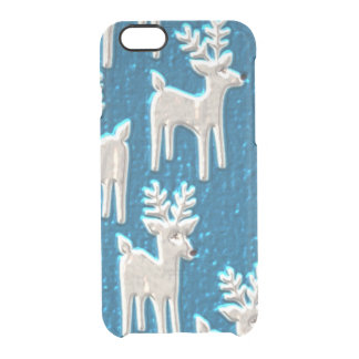 Reindeer pattern iPhone 6 uncommon case