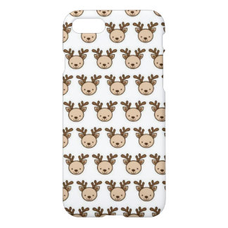Reindeer Pattern iPhone 8/7 Glossy Case