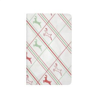 Reindeer Pattern Journals