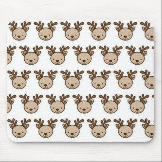 Reindeer Pattern Mousepad