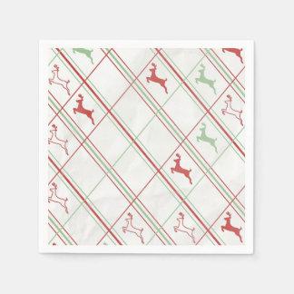 Reindeer Pattern Paper Napkins