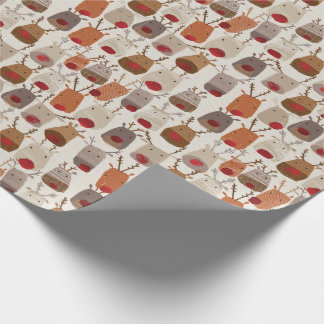 Reindeer Pattern WrappingPaper
